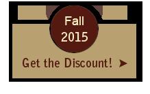 Fall 2015 Ranch Vacation Discount