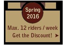 Spring 2016 Ranch Vacation Discount