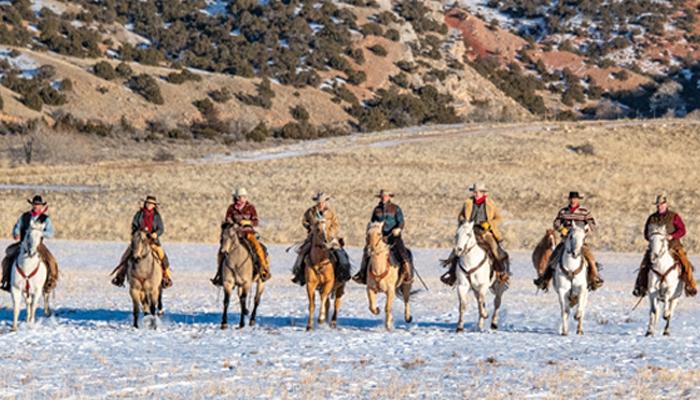 Winter 2014 Hideout Ranch, WY